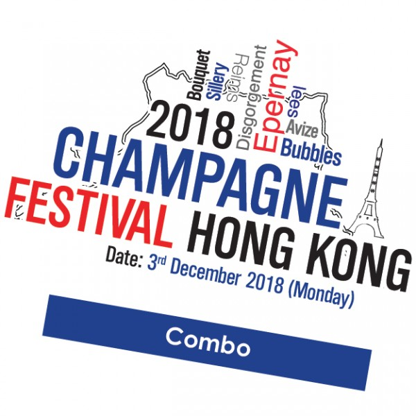 Champagne Festival 2018 Combo Ticket